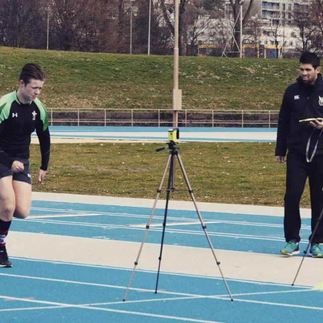 Testing the speed of the youngster for u18 7s nationalhellip
